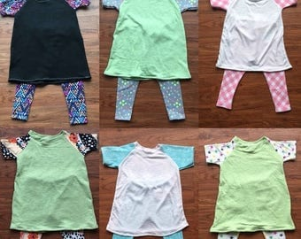 70% Off Raglan Dress & Legging Set 9-12 Months