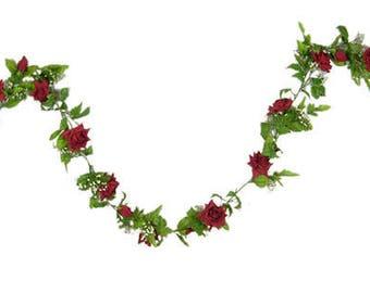 Beautiful Rose Garland
