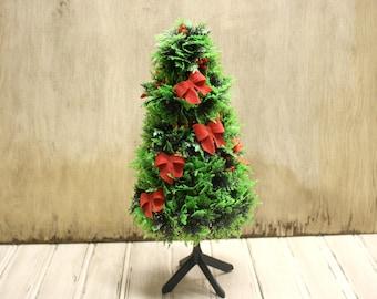 vintage plastic christmas tree vintage christmas small tree holiday decor - Plastic Christmas Tree