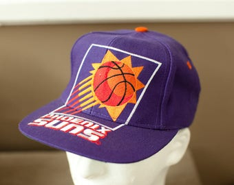 Vintage New 90s PHOENIX SUNS Basketball Adjustable hat