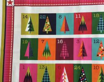 Makeower 1612 Wrap it Up Advent 100% Cotton Fabric by the 60 cm panel