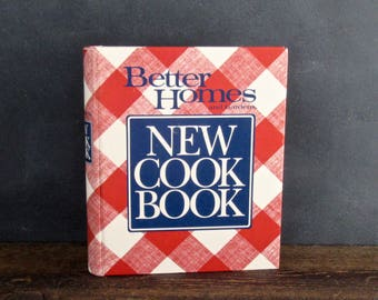 Better Homes & Gardens New Cookbook, 1989 Hardcover, 5 Ring Binder Style , FREE SHIPPING
