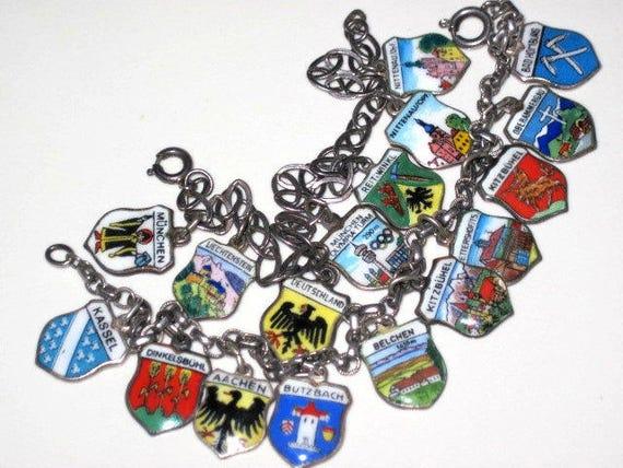 2 Shield Bracelet lot