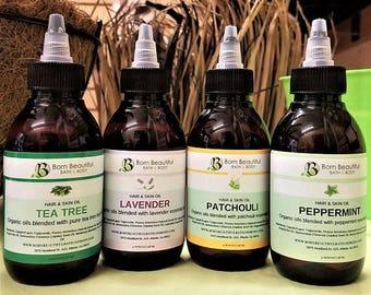 Natural Hair Oil, Body Oil, Hair Oil, Hair Growth Oil, Lavender Oil,  Natural Hair Products,  Tea Tree Oil, Patchouli Oil, Skin Care