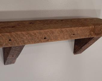 Barnwood Wall Shelf - 20 inches