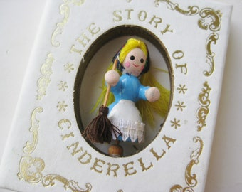Vintage 1979 Kurt S. Adler Cinderella Story Book Christmas Tree Ornament