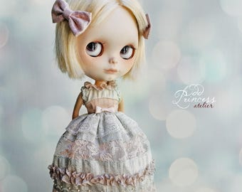STARDUST KISS Silk Blythe/Pullip Dress By Odd Princess, Victorian Collection, Special Outfit