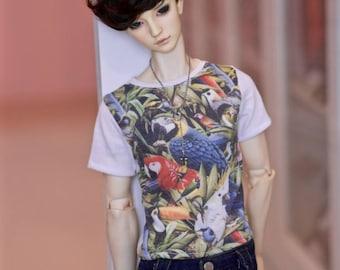 SD BOY Tropical birds T-shirt