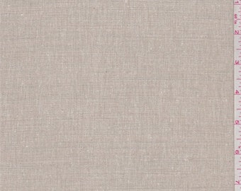 Oatmeal Heather Home Decorating Linen, Fabric By The Yard