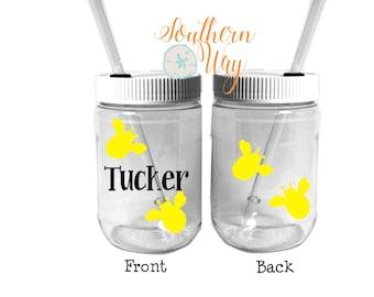 Plastic Mason Jar Cups