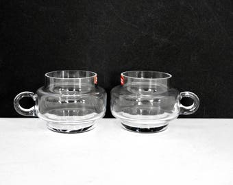 Mod Dansk Glass Espresso Cups