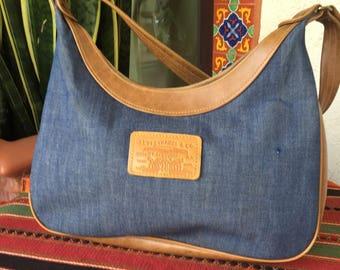 Levis purse bag denim hobo