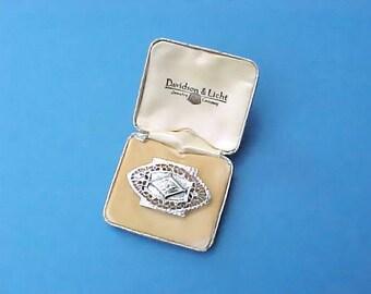 Darling Little Edwardian Era Box for Brooch, Ring, Etc.