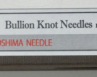 Tulip Bullion Knot Needles