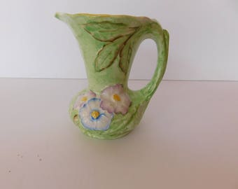 """Vintage James Kent Ltd. Pitcher - 5"""" - Hand Painted - Made in England - Beautiful Piece"""