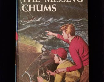 Vintage 1962 Hardy Boys The Missing Chums #4