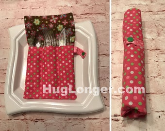 ITH Silverware or Makeup brush roll up HL2050 embroidery file