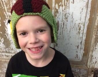 Boba Fett Hat, Star Wars, Crochet Hat, Cosplay