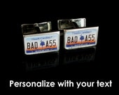 South Carolina License Plate Personalized Cufflinks by PL8LINKS