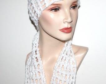 Crochet Boho Scarf Pattern Gypsy Women Long Scarf 3 Sizes Light Airy Boho Scarf Pattern Use favorite size crochet hook Instant Download PDF