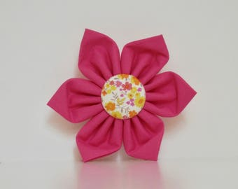 Floral Pink Yellow Dog Flower Wedding Accessories Made to Order