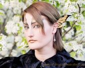 Custom Wicked Fairy Ear Wings, Dark Elf Ears, Dragon Fin Ear Cuffs, Costume Winged Gothic Jewellery- your choice of colours