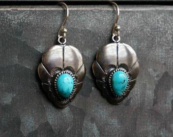 Adoeette 925 Silver Earrings Turquoise Earrings Boho Earrings Bohemian Jewelry