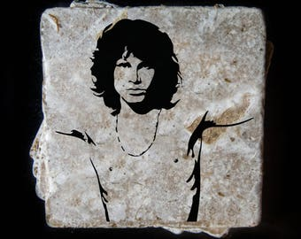 Jim Morrison coaster set. **Ask for free gift wrapping and have them sent directly to the recipient!**