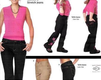 ON SALE Jalie 2908 Women's Low Rise & Regular Rise Stretch Jeans Sewing Pattern, Size 4-22, UNCUT