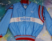 Houston OILERS Football Sports Jacket Size  XXL