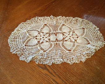 Oval Shaped Doily