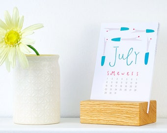 stocking stuffer - 2018 sewing calendar (without stand)