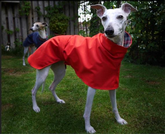 Waterproof whippet coats fleece lined