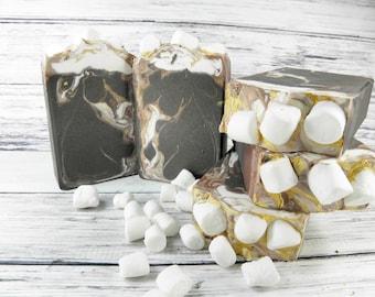 MALLOW goat milk soap/tea soap/soap/bar soap/handmade soap/gift women/cold process/wholesale soap/woman gift/decorative soap/gifts