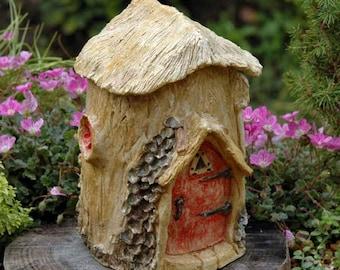 Red Door Fairy House