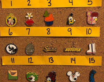 Create your own Disney pin set – individually priced (set AA)