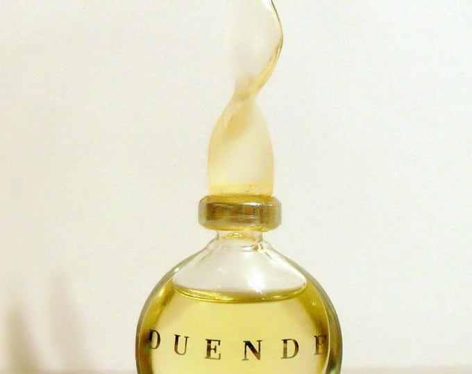 Vintage 1990s Duende by J del Pozo 0.17 oz Eau de Toilette Miniature Mini Bottle PERFUME