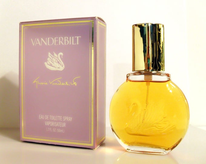 Vintage 1980s Vanderbilt by Gloria Vanderbilt 1.7 oz Eau de Toilette Spray and Box PERFUME