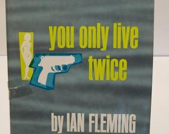 Vintage James Bond Novel You Only Live Twice Ian Flemming