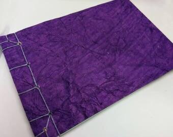 Purple Japanese Traditional Stab Binding Sketchbook Journal Notebook Album Book Medium