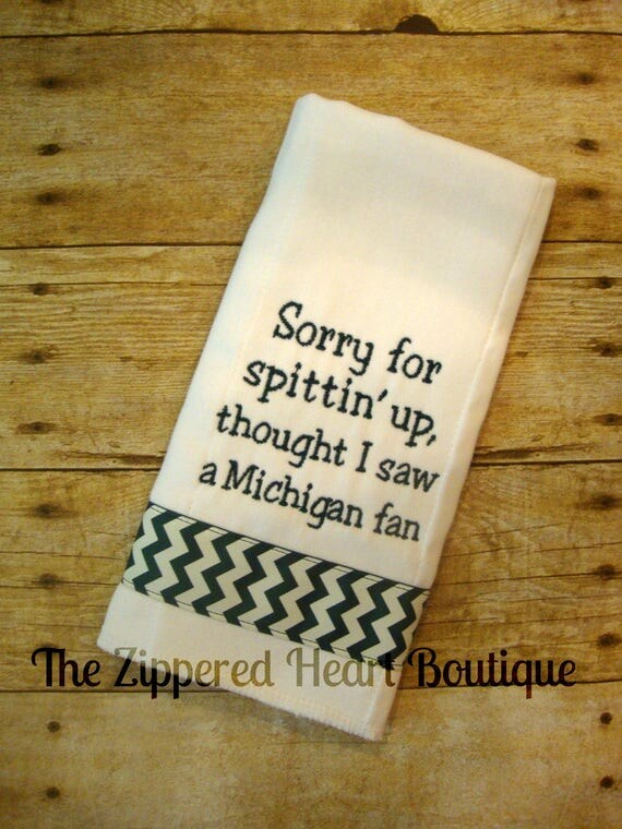 Spartan Burp Cloth