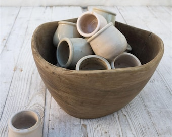 Stoneware Pots (Set of 2)