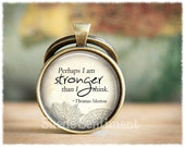 Inspirational Keychain • Recovery Gift • Motivation Keyring • Strength • Courage • Inspirational Gifts
