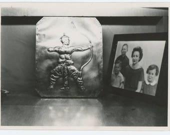Vintage Snapshot Photo: Still Life, Abstract (75582)