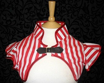 Lydia Stripey shrug steampunk goth cirque lolita size medium