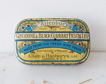 Vintage 'The Allenburys' Sweet Tin