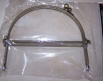 Antique Brass Purse Frame