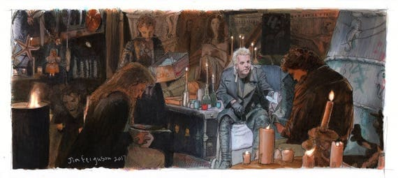 The Lost Boys - You're Eating Maggots Michael Print