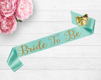 Bride To Be Sash, Bachelorette Sash, Custom Bridal Sash, Personalized Sash, Bride To Be, Bridal Shower Sash, Bride To Be Gift, Wedding Sash