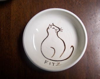 customized cat bowl